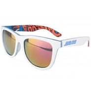 Screaming Insider Sunglasses - White/Blue