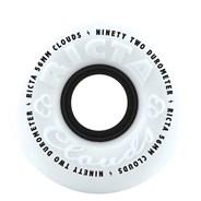 Clouds 56mm 92A White/Black Wheel