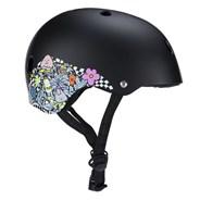 Lizzie Armanto 187KP Certified Skate/BMX Helmet - Black Floral