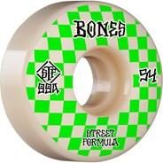 Patterns STF V3 Slims 99A 54mm White Skateboard Wheels