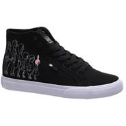 Bobs Manual High Black/White/Pink Shoe
