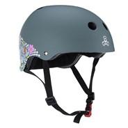 Lizzie Armanto Sweatsaver Skate/BMX Helmet - Floral