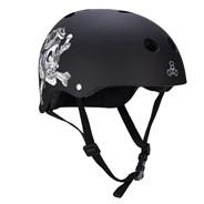 Elliot Sloan Certified Sweatsaver Skate/BMX Helmet - Black