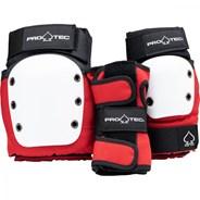 Street Gear Junior 3 Pack - Red/Black