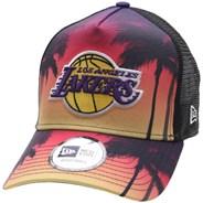 Summer City Trucker Cap - LA Lakers