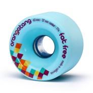 Fat Free Freeride Longboard Wheels - Blue