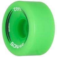 Sonar Zen 62mm/85a Roller Skate Wheels- Green