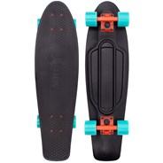 Complete Nickel 27inch Plastic Skateboard - Bright Light