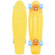 Complete Nickel 27inch Plastic Skateboard - High Vibe
