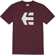 Icon S/S T-Shirt - Burgundy