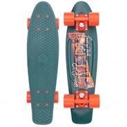 Complete 22inch OG Plastic Skateboard - Postcard Highland