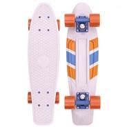Complete 22inch OG Plastic Skateboard - Chevron