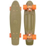 Complete 22inch OG Plastic Skateboard - Burnt Olive