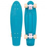 Complete Nickel 27inch Plastic Skateboard - Ocean Mist