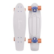 Complete Nickel 27inch Plastic Skateboard - Stone Forest
