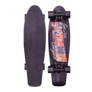 Complete Nickel 27inch Plastic Skateboard - Postcard Urban