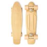 Complete 22inch OG Plastic Skateboard - Staple Bone