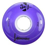 Luminous 62mm 85a Roller Skate Wheel - Purple