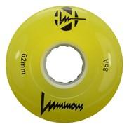 Luminous 62mm 85a Roller Skate Wheel - Yellow