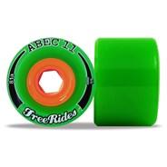 Classic Freerides 66mm Longboard Wheels - Green