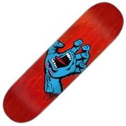 Screaming Hand 8inch Skateboard Deck - Multi