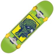Return of the Fiend Mid 7.8inch Complete Skateboard - Green