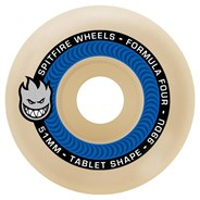 Formula Four Tablet 99DU Natural 54MM Skateboard Wheels - Blue