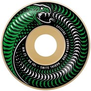 Formula Four Venomous Radial Slim 101a Natural 52MM Skateboard Wheels - Green