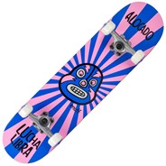 Lucha Libre 7.75inch Complete Skateboard - Pink/Blue