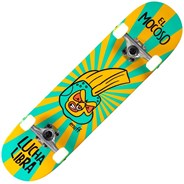 Lucha Libre 7.75inch Complete Skateboard - Yellow/Blue