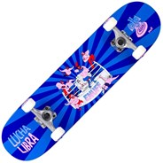 Lucha Libre 7.75inch Complete Skateboard - Blue/Blue