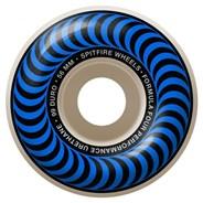 Formula Four Classics 99DU Natural 56MM Skateboard Wheels - Blue