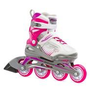 Bladerunner Phoenix G Recreational Inline Skate - White/Fuchsia