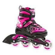 Bladerunner Phoenix G Flash Girls Recreational Inline Skate - Black/Pink