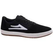 Brighton Black Suede Shoe