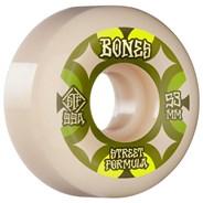 STF Retros V5 Sidecut 99A 53mm White Skateboard Wheels