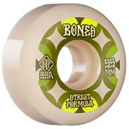 STF Retros V5 Sidecut 99A 55mm White Skateboard Wheels