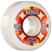 STF Retros V5 Sidecut 103A 52mm White Skateboard Wheels
