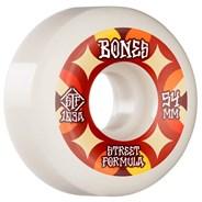 STF Retros V5 Sidecut 103A 54mm White Skateboard Wheels