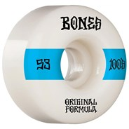100's #14 V4 Wide 53mm White Wheels