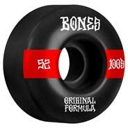 100's #14 V4 Wide 52mm Black Wheels