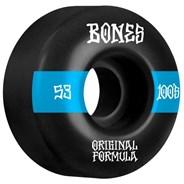 100's #14 V4 Wide 53mm Black Wheels
