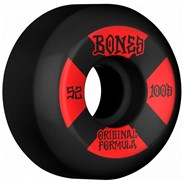 100's #4 V5 Sidecut 52mm Black Wheels