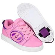 Voyager Light Pink/Purple Kids Heely Shoe