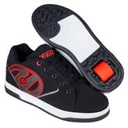 Propel 2.0 Black/Red/Grey/White Kids Heely Shoe