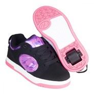 Voyager Black/Purple/Hologram/Hot Pink Kids Heely Shoe