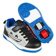 Dual Up Black/Red/Blue Mad Happy Kids Heely X2 Shoe