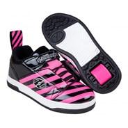 Rift X2 Black/Hot Pink/Stripe Kids Heely X2 Shoe