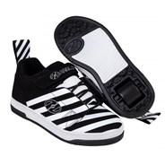 Rift Black/White/Stripe Kids Heely X2 Shoe