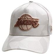 Multi Camo Trucker Cap - LA Lakers